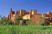 Morocco,Tamdaght kasbah