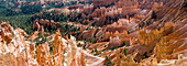 US, Utah, Bryce Canyon National Park, giant natural amphitheater created by erosion along the eastern side of the Paunsaugunt Plateau