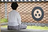 Corée du Sud, Séoul, Zen meditation
