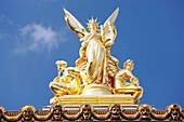 France, Paris Opera, statue