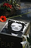 France, Paris, Edith Piaf's grave at Père Lachaise cemetery