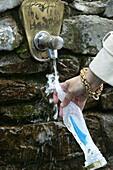 France, Pyrénées, Lourdes, Lourdes  holy water.