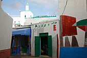 Africa, Maghreb, North africa,Morocco, Asilah (region of Tangier-Tetouan), alleyway in the medina