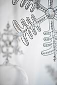 Snowflake Ornament, Close-Up