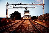 Train Tracks, Trondheim, Norway