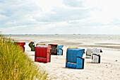 Strand am Goting Kliff, Insel Föhr, Schleswig Holstein, Deutschland, Europa