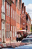 Street scene in Potsdam, Mittelstraße, Dutch Quarter, Potsdam, Land Brandenburg, Germany