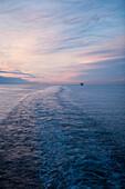Ferry in Oresund, near Gothenburg, Vaster-Gotaland, Sweden