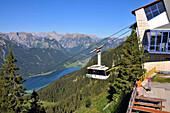 Seilbahn zum Rofan, Maurach am Achensee, Tirol, Österreich, Europa