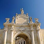 Italy, Puglia, Lecce, Porta Rudiae (Rudiae Gate)