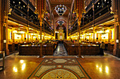 Interior view of the synagogue, Budapest, Hungary, Europe