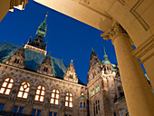 Town Hall, Hanseatic City of Hamburg, Germany