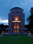 Planetarium Hamburg located in a former water tower, Hanseatic City of Hamburg, Germany