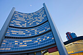 Vienna International Centre, VIC, colloquially also known as UNO City, building complex hosting the United Nations Office, Vienna, Austria