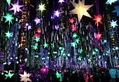 Weihnachten, Licht Show, Ayala Dreieck, Makati, Manila, Insel Luzon, Philippinen