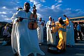 Local musicians, Marrakesh, Morocco.
