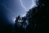 Lightning storm, Johannesburg, South Africa