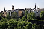 Luxembourg, skyline, general panoramic view