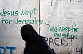 Territoire palestinien occupé, Bethlehem, Betlehem side of the Israeli security wall