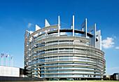 France, Alsace, Bas-Rhin, Strasbourg, European parliament