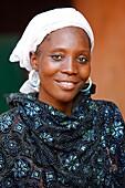Togo, Lomé, Muslim woman