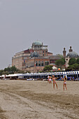 Italy, Veneto, Venice, Lido island