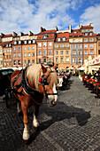 Poland, Warsaw, Old Town Square, Rynek Starego Miasta