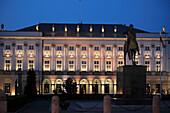 Poland, Warsaw, Radziwill Presidential Palace