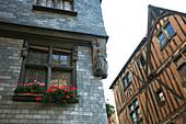 France, Centre val de Loire, Indre et Loire (37), Tours, medieval house near Plumereau square