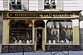 France, Paris, herbalist's shop