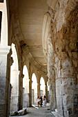 France, Provence Alpes Cote D'Azur, Bouches du Rhône (13), Arles, arena or amphitheatre (Unesco world heritage)