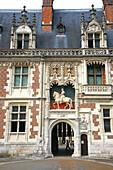 France, Centre Val de Loire, Loir et Cher (41), Blois castle, main gate