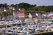 France, Brittany, Morbihan, Groix island, Port Tudy harbour