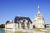France, Picardie, Oise, Chantilly castle