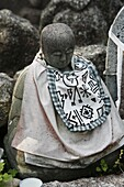 JAPON, KYOTO, Jizo is a Shinto god who looks after dead children's souls
