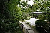 JAPON, KYOTO, Tenjuan garden in Nanzen Ji temple