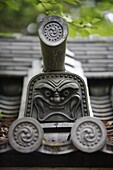 JAPON, KYOTO, Traditionnal roof detail