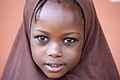 Togo, Lomé, Muslim girl