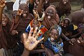 Togo, Lomé, Muslim children