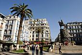 Algeria, Algiers, Emir Abdelkader square