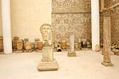 Algeria, Kabylia, Djemila roman ruins, museum