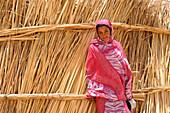 Algeria, region of Tamanrasset, Ahaggar desert, tuareg woman