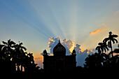 Evening mood, Safdarjang tomb, Safdarjang´s Tomb, New Delhi, Delhi, India