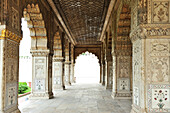 Marble Hall, Red Fort, UNSECO World Heritage Site, Old Delhi, Delhi, India