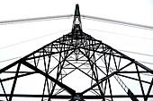 Electrical Power Lines and Tower