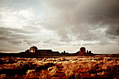 Monument Valley and Dramatic Sky, Utah, USA