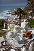 High Tea at the Hotel Ellerman House, Bantry Bay, Cape Town, Western Cape, South Africa