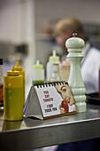Kitchen impression at the restaurant  Foodbarn, Noordhoek, Western Cape, South Africa, RSA, Africa