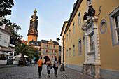 Weimarer Stadtschloss, City castle, Weimar, Thuringia, Germany