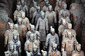 Army of Terracotta Warriors in Xi'an, Shaanxi, China